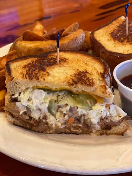 Barbecue Pork Sandwich