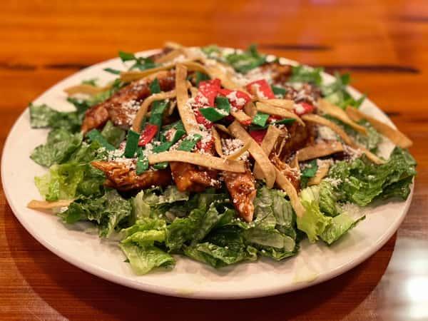 Southwestern BBQ Chicken Caesar Salad