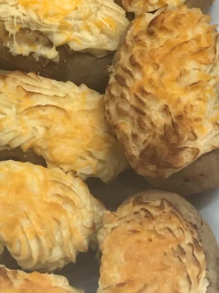 Double Baked Stuffed Potato
