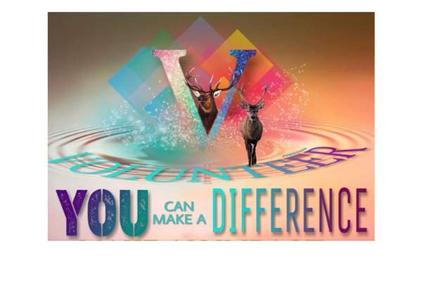 you make a difference Volunteer