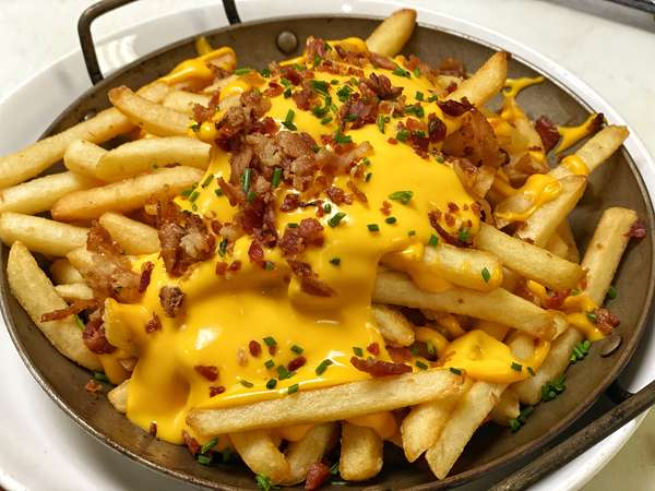 Street Fries W/ Bacon & Cheese