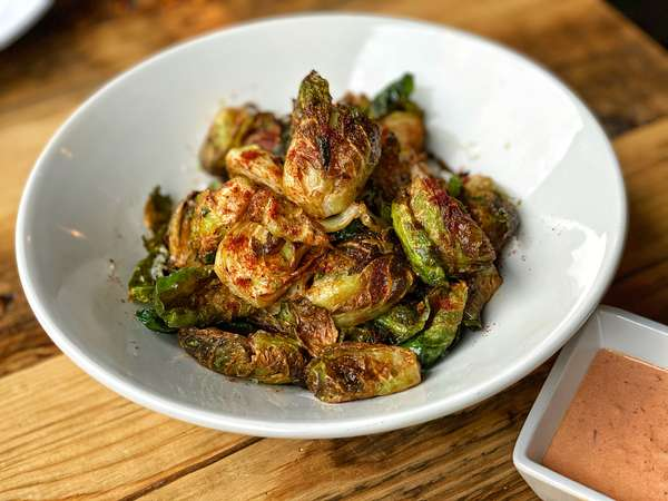 Crispy Brussel Sprout