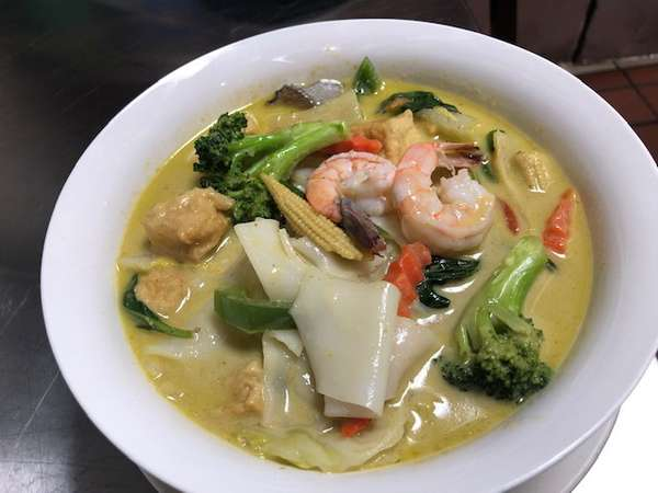 Noodles Green Curry