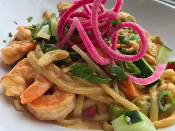 Thai Shrimp Pasta Bowl