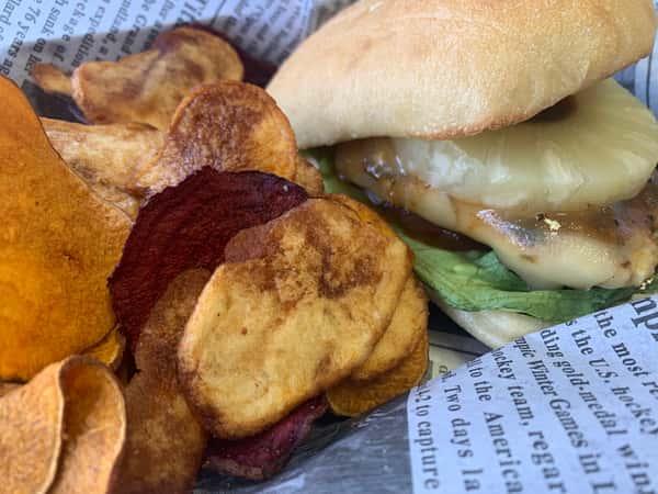 Caribbean Jerk Chicken Sandwich