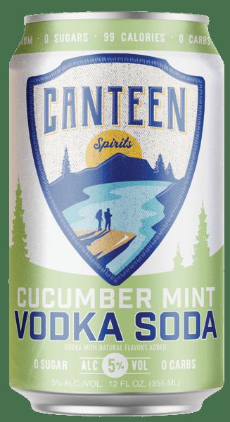 Canteen Spirits - Vodka Soda 6 pack