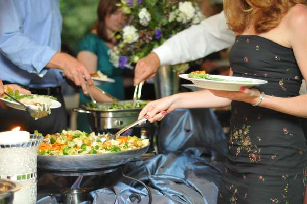 Elegant Wedding Catering