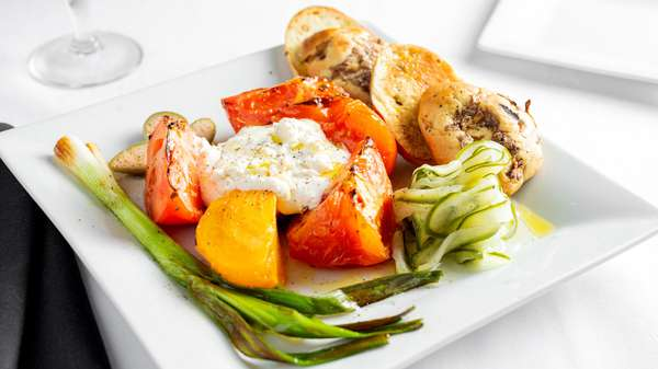 Grilled GReek plate