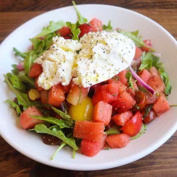 Watermelon Ricotta Salad
