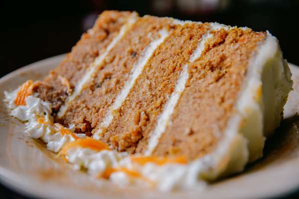 double carrot cake