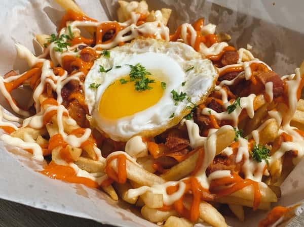 Kimchi Bacon Fries
