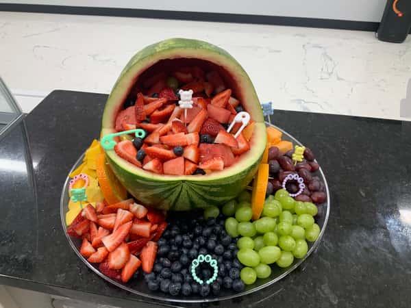 Fruit Carraige Arrangment