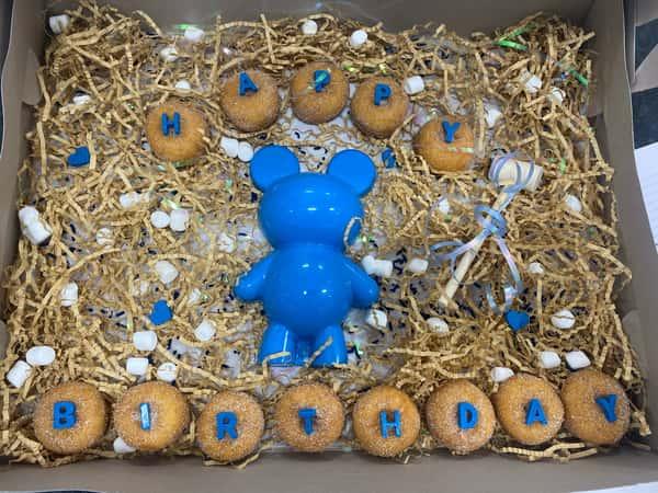 Breakable Bear + Mini Donuts