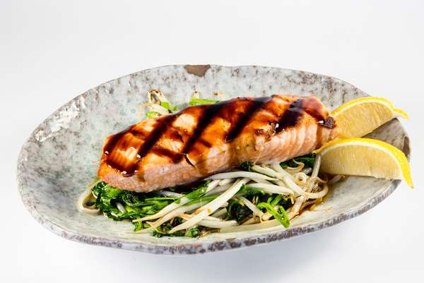 Seared Salmon Teriyaki*