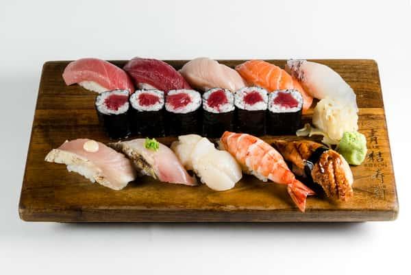 Sushi Deluxe Platter