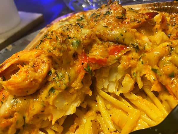 Cajun Seafood Linguini