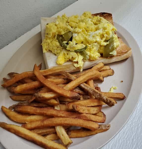 Pepper & Egg Sandwich