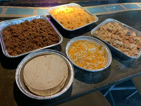 Beef/Chicken Taco Meal
