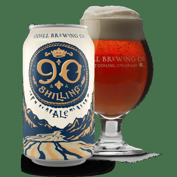 Odell Brewing Co.-90 Shillin Ale