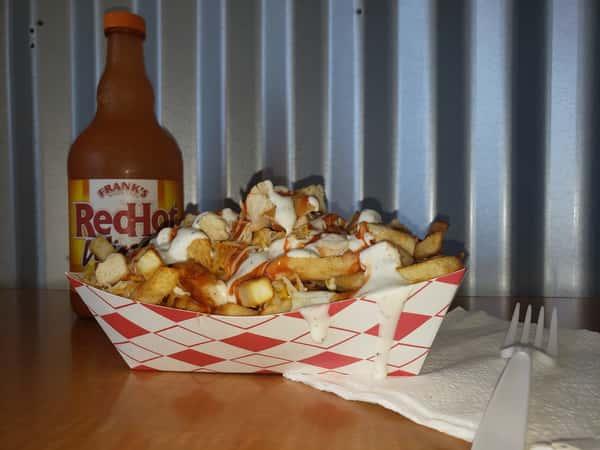Cheesy Buffalo Chicken Fries