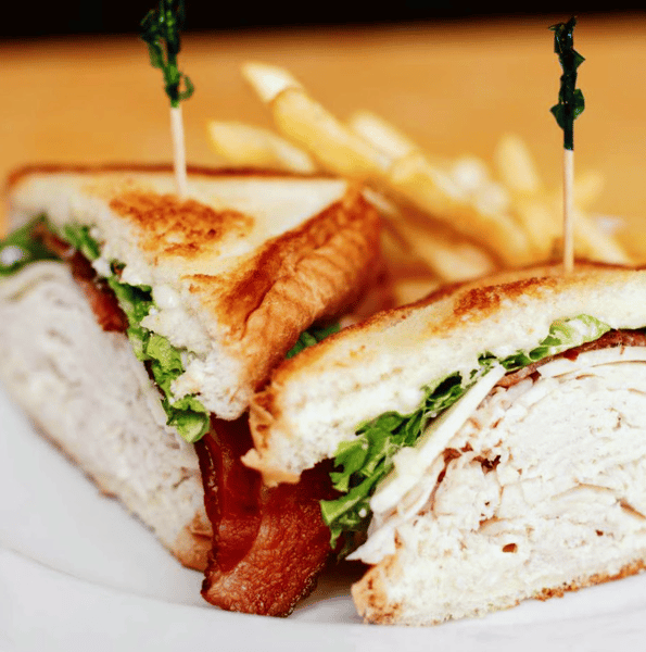 turkey club sandwhich