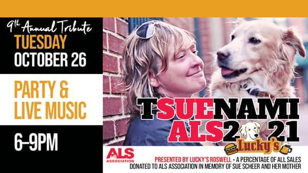9th Annual T-SUE-NAMI for ALS 2021
