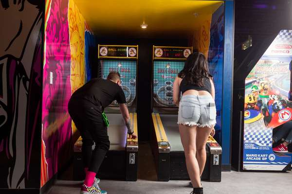 people playing game
