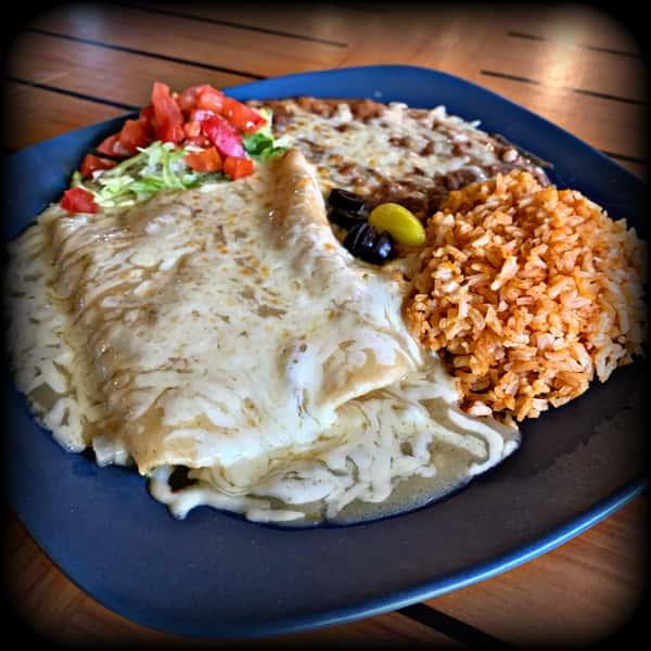 Enchiladas de Camaron (2)