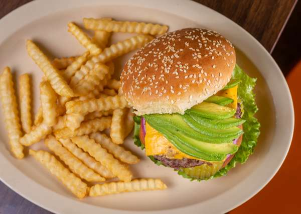 #10 Avocado Burger