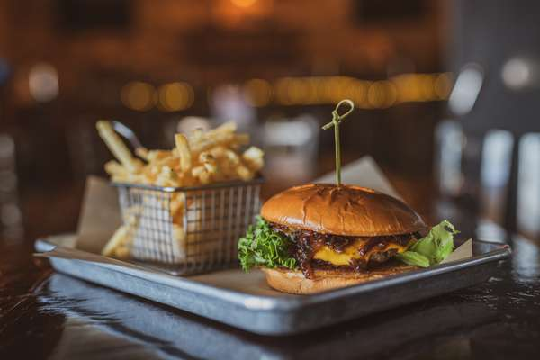 Jammin Bacon Burger