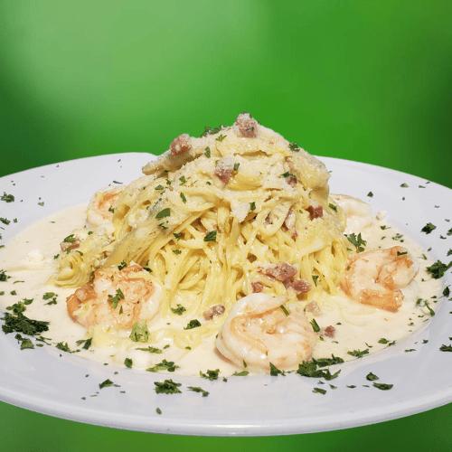 Shrimp & Pancetta