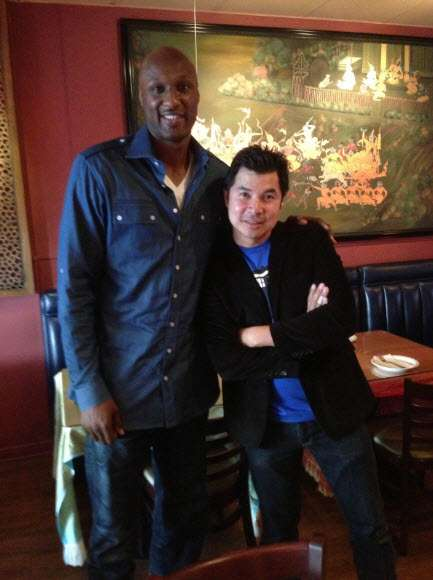 lamar Odom love our crab fried rice