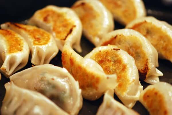 Thai Chicken Dumplings