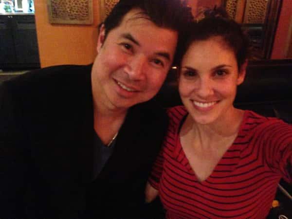 Daniela Ruah: NCIS Los Angeles loves Emporium Thai