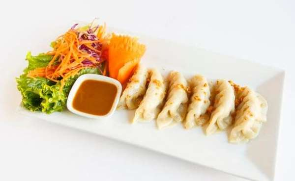 Thai Veggie Dumplings
