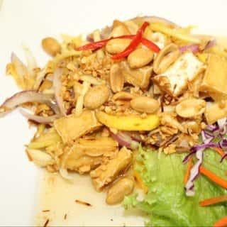Coco Mango Crispy Tofu-Vegan