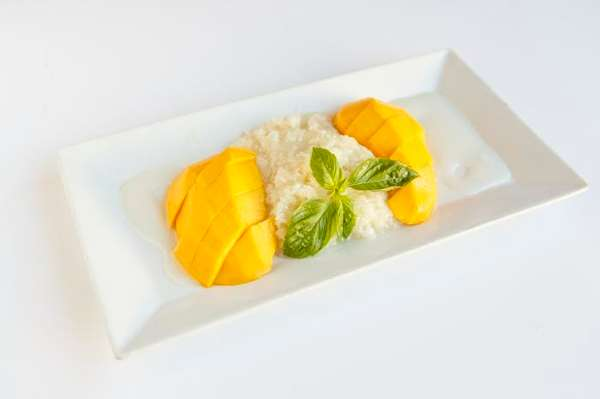 Sweet Sticky Rice w/Mango