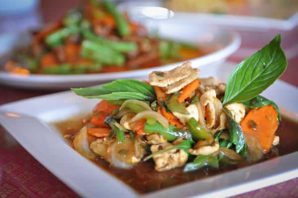 Thai Basil Stir-Fry