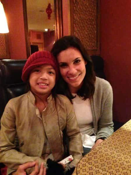 Daniela Ruah: NCIS Los Angeles visited us few times
