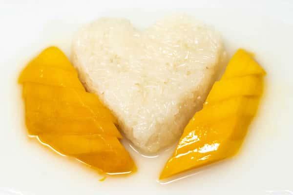 Fresh Mango with Sticky Rice