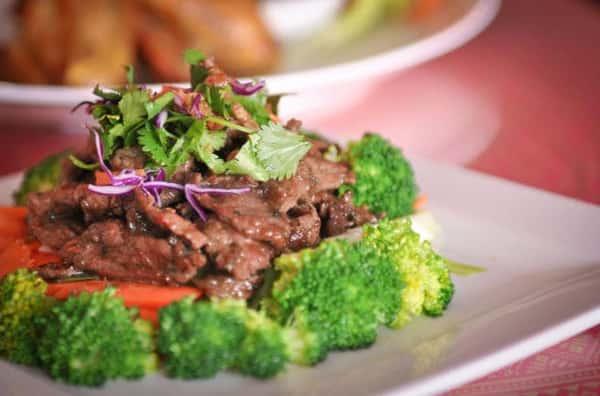 Pad Broccoli Stir-Fry