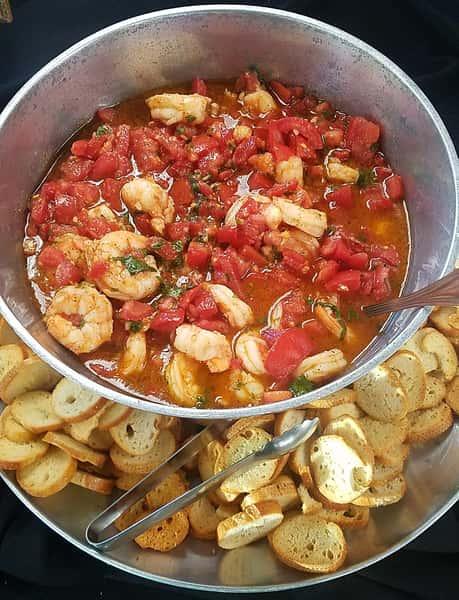 Italian Shrimp Bruschetta