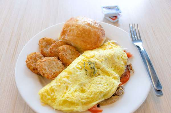 sausage omlette