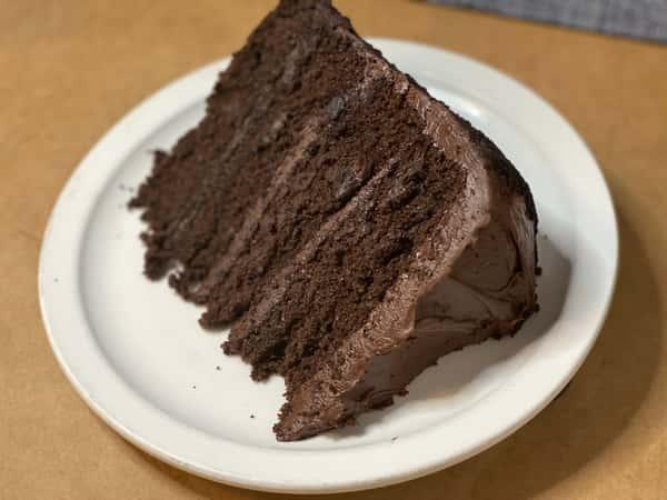 Chocolate Tower Cake