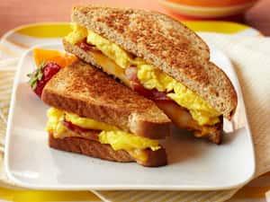 Breakfast Sandwich on Toast