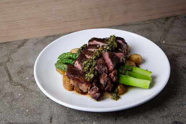 Cast Iron Seared NY Strip Steak