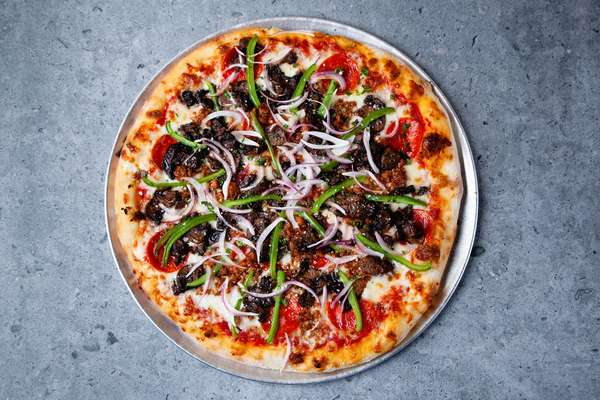 """The """"Wabash Cannonball"""" Pizza"""