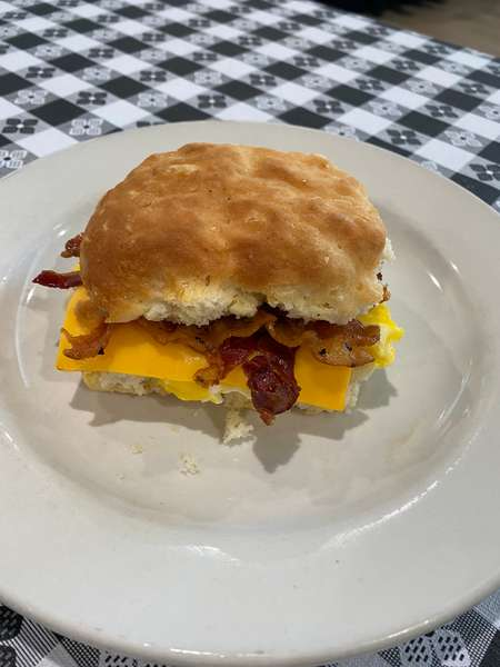 Handmade Buttermilk Biscuit with Choice of Meat