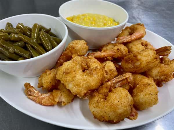 American Fried Shrimp Platter