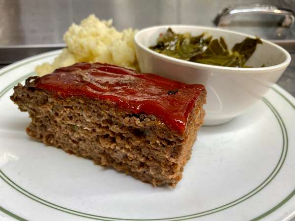 Down-Home Meatloaf Plate
